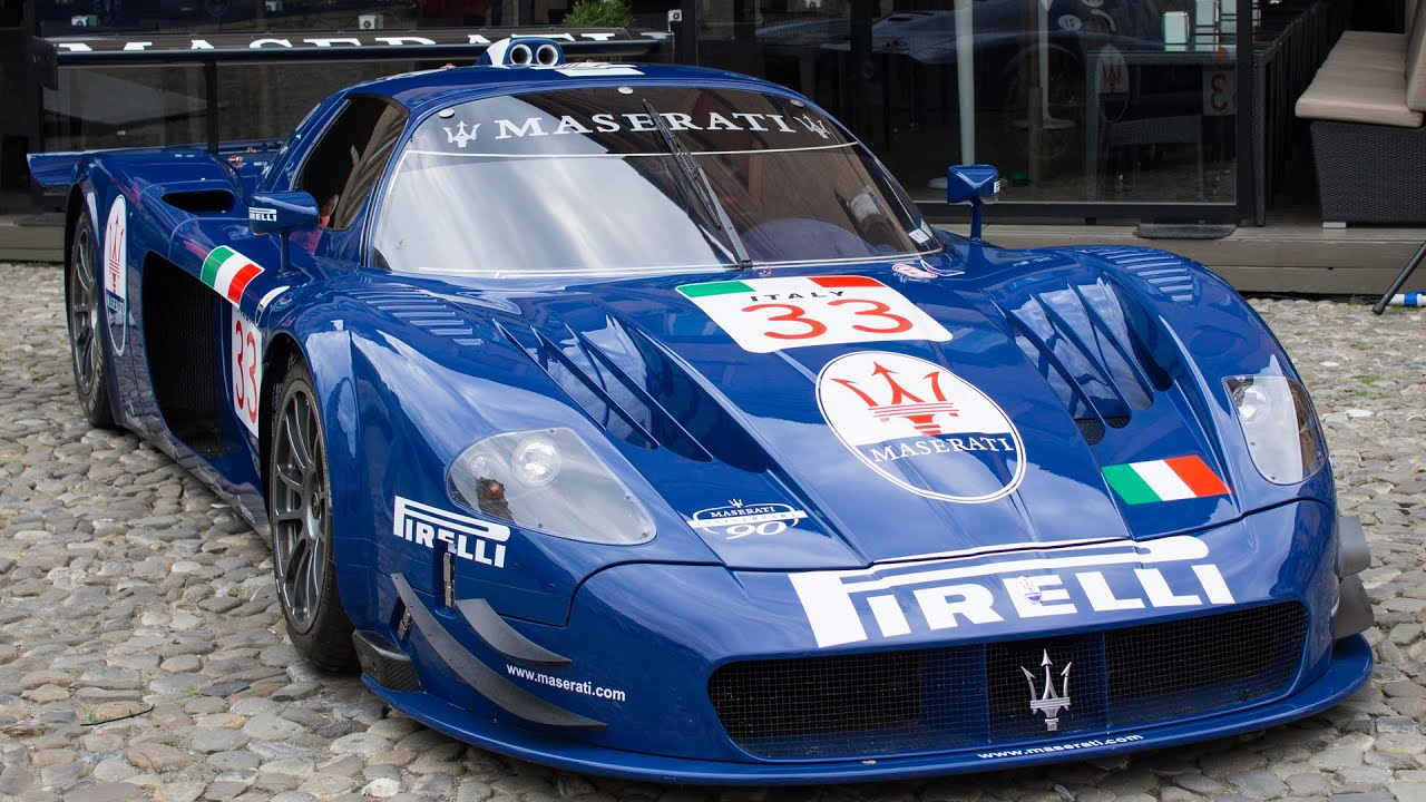 maserati mc12 gt1 1 of 3 maserati100 2014 hq youtube. Black Bedroom Furniture Sets. Home Design Ideas