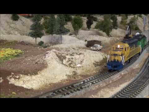 N Scale Run Day Southern New Mexico N Scalers 5 20 2017
