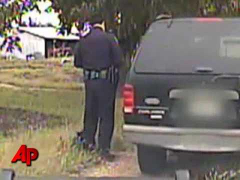 Raw Video: Policeman Vs. Kitty