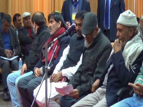 NC,s Shabir Kamal, PDP Inderwal Abdul Kabir Butt,Majed Butt at CM kishtwar Public Darbar