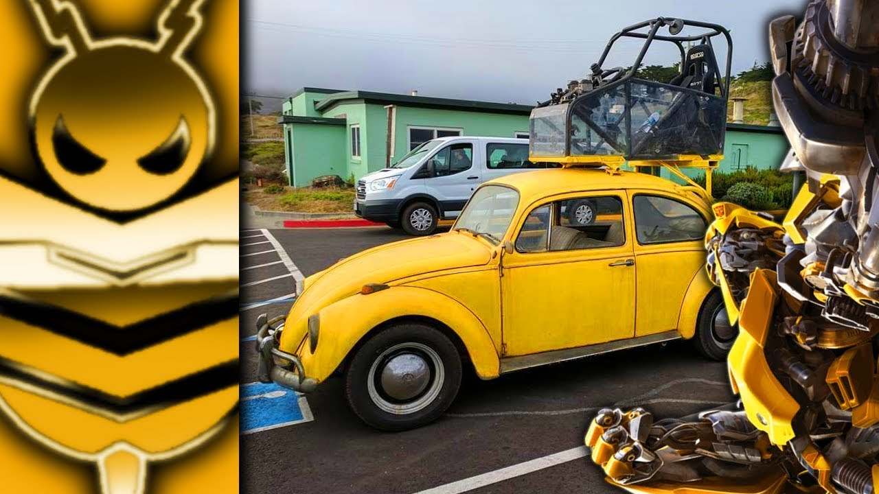 Classic Volkswagen on BUMBLEBEE FILM SET | # ...
