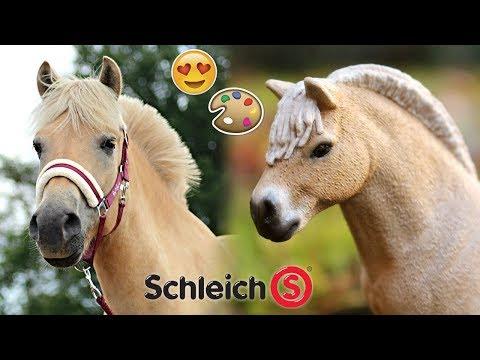Moos van HoefWijzer namaken als Schleich paard! | Paarden van YouTubers namaken #5 | Daphneee