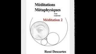 Méditations métaphysiques - seconde méditation