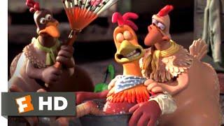 Chicken Run (2000) - Flight School Scene (4/10) | Movieclips