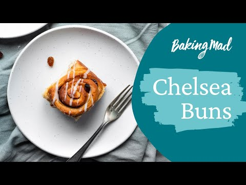 How to Make Chelsea Buns | Baking Mad