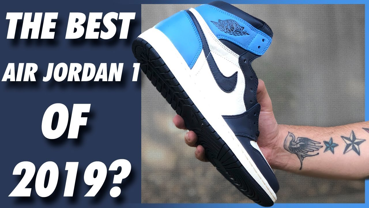 finest selection f6224 ffbbb AIR JORDAN 1 HIGH OG OBSIDIAN UNIVERSITY BLUE