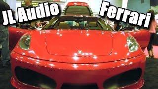 Custom JL Audio Ferrari Install w/ 2 12