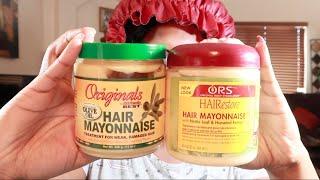 Africa's Best Hair Mayonnaise vs ORS Hair Mayonnaise