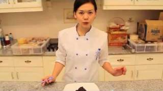 Chocolate Cashew Brownie Cake (cheny Liem)