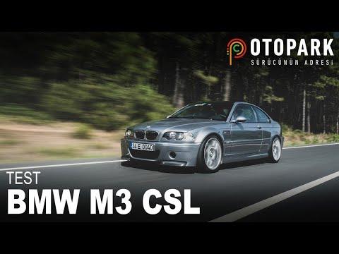 BMW M3 CSL | TEST | DRIVEN34'ü ziyaret ettik!
