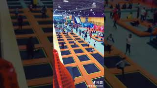 Bettaplay Interactive Trampoline Game Indoor Playgound Small Gymnastic Trampoline Park