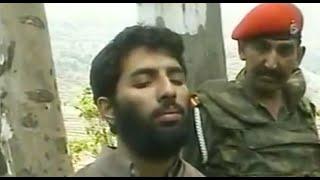 Suspected Pakistani militants held in border area