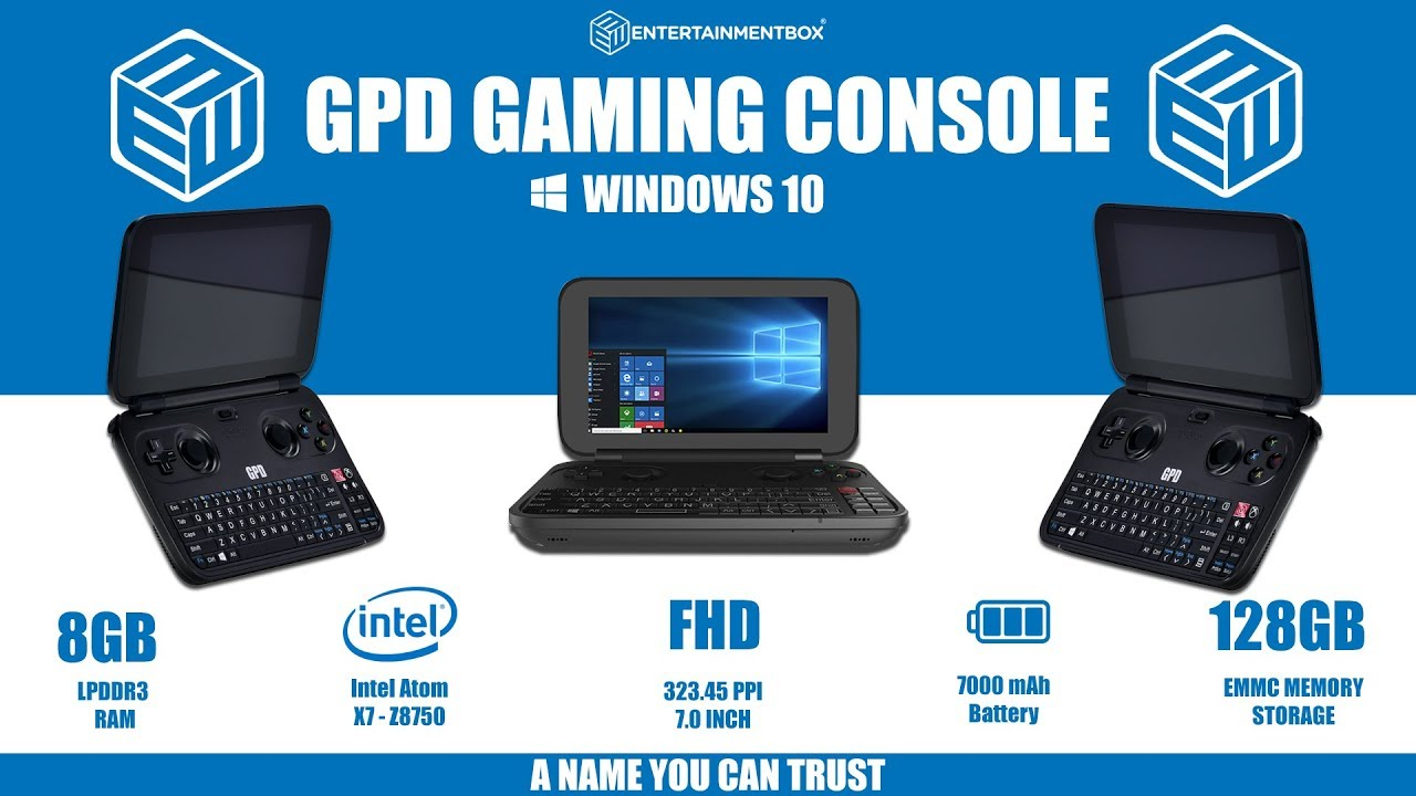 GPD Win Review The Windows 10 Handheld Gaming Console - YouTube