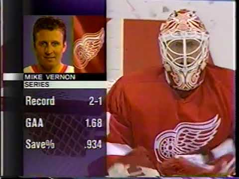 NHL Western Conference Quarter-Finals 1997 - Game 4 - Detroit Red Wings @ St.Louis Blues - ESPN