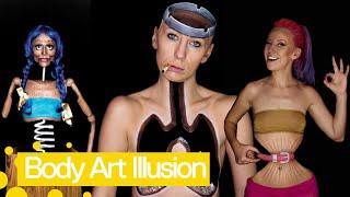 Incredible Body Art Make Up Illusions 2019