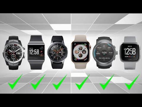 Top 6 Best Smartwatch 2019