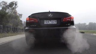 2012 Lexus IS F review (quick spin and track test)