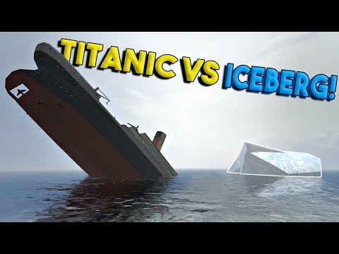 MASSIVE TITANIC VS ICEBERG & MORE! - Disassembly 3D Gameplay - EP 3