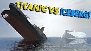 Massive Titanic Vs Iceberg & More! - Disassembly 3d Gameplay - Ep 3