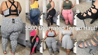 $500 Torrid Try-On Haul | Overpriced? Overrated? | Plus Size
