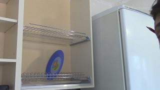видео Шкаф навесной с сушилкой