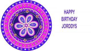 Jorddys   Indian Designs - Happy Birthday