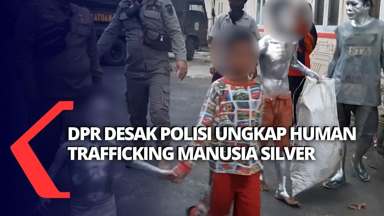 Polisi Diminta Ungkap Jaringan Manusia Silver dan Gelandangan