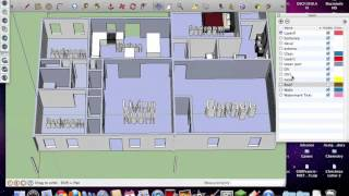 Floor Plans - 3D Modeling - Auto Cad and SketchUp Pro