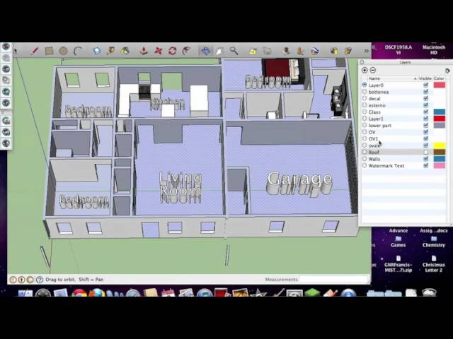 Floor Plans 3d Modeling Auto Cad And Sketchup Pro Youtube