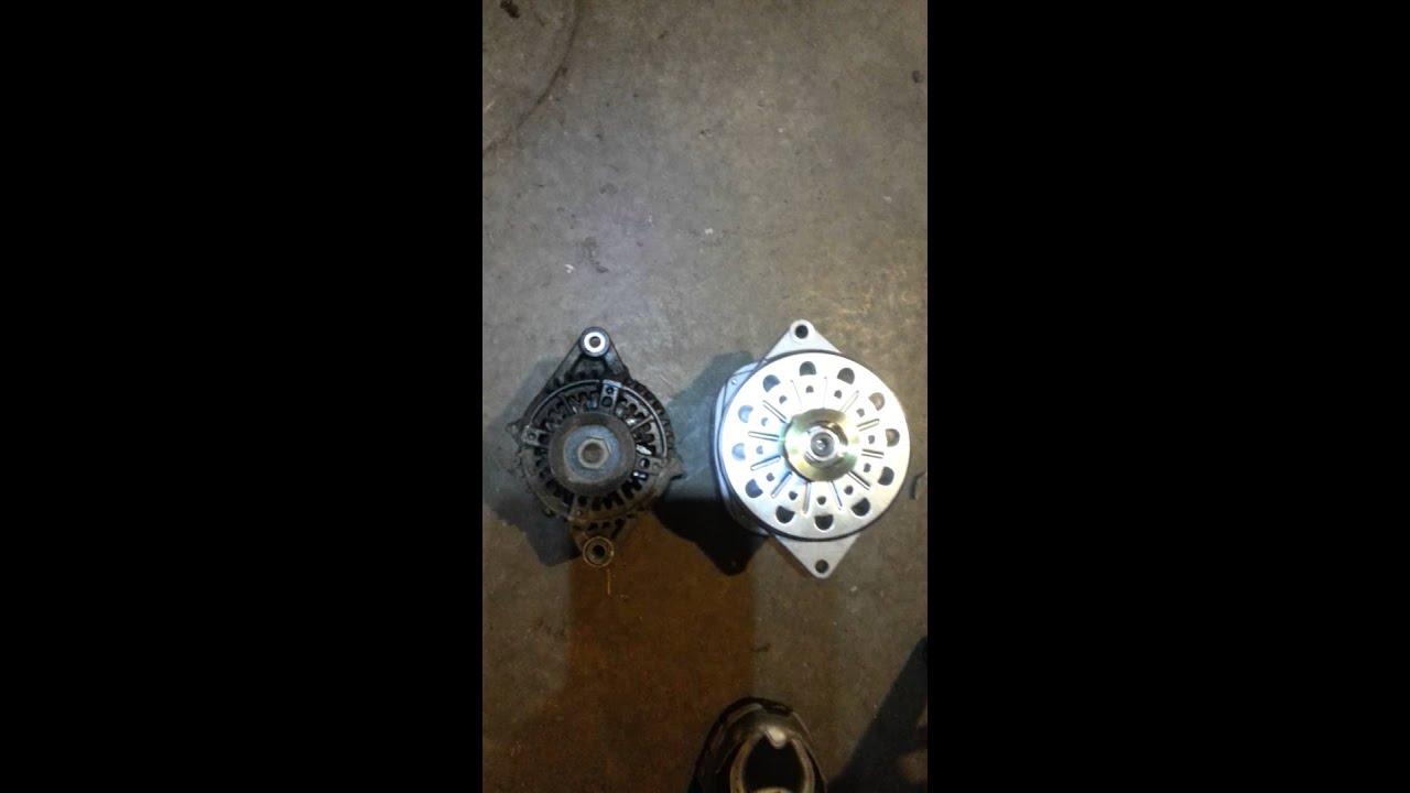 Cs144 swap Toyota 4runner 300 amp alternator