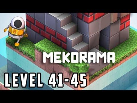 Mekorama Level 41, 42, 43, 44, 45 Walkthrough Gameplay [HD]