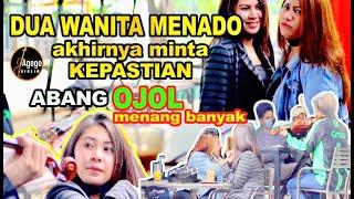 "Dua Wanita MANADO Auto Tak Berdaya. Abang OJOL Mainkan lagu ""ARANG TAMPURUNG"" #kepastian"