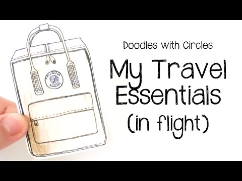 Doodles with Circles : Travel Essentials