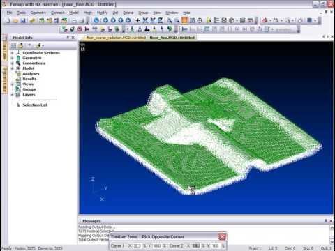 Femap Results Mapping