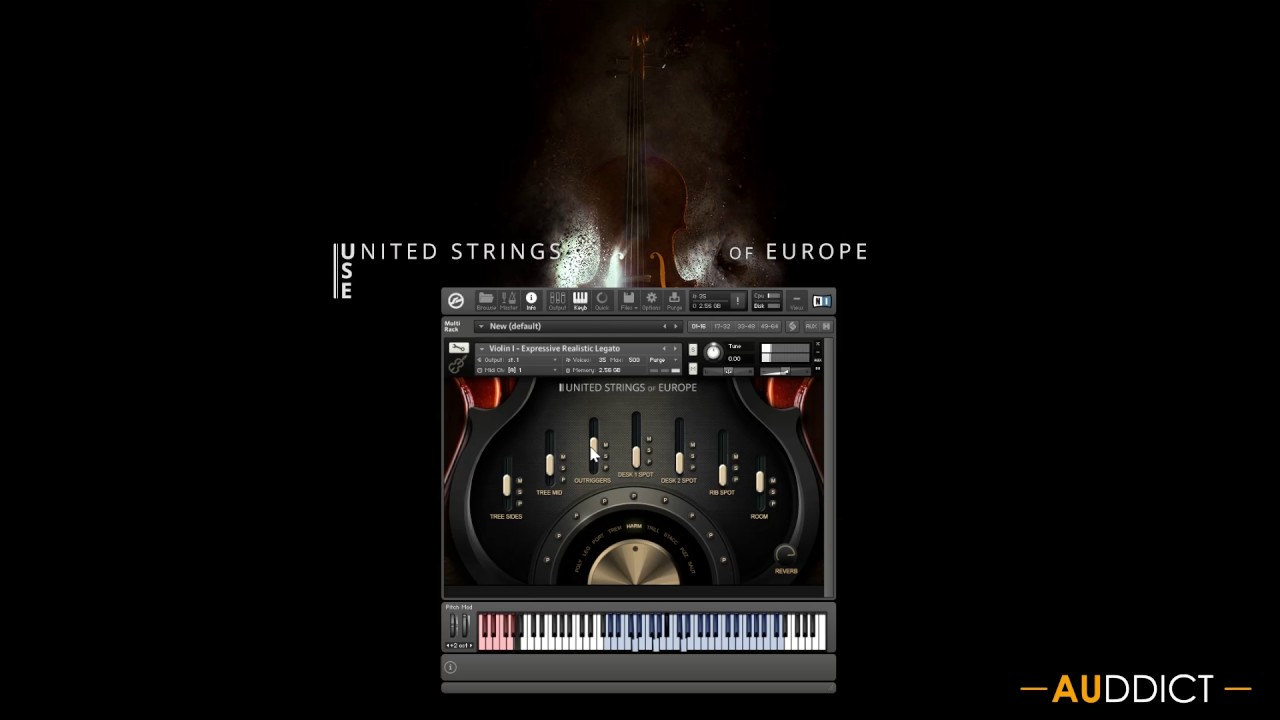 The United Strings of Europe - Auddict's String Orchestra is