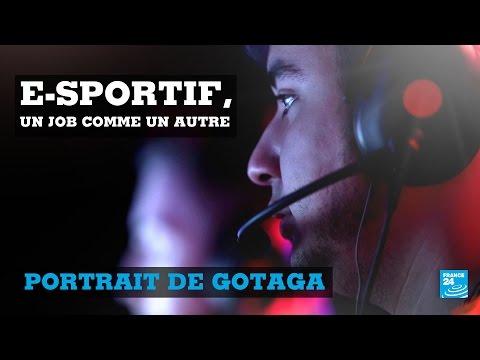 E-sportif, un job comme les autres ! Portrait de Gotaga, joueur professionnel de Call of Duty