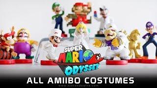 Unlocking All amiibo Costumes   Super Mario Odyssey