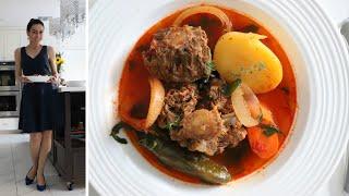 Хашлама из Хвоста Говядины - Армянская Кухня - Khashlama - Рецепт от Эгине - Heghineh Cooking Show