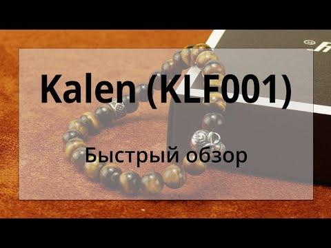 Мужской браслет с черепом и натуральными камнями Kalen (KLF001). Быстрый обзор.
