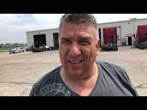 Volvo Truckers USA. DAVID KAMAZ Притащил убитую Каскадию