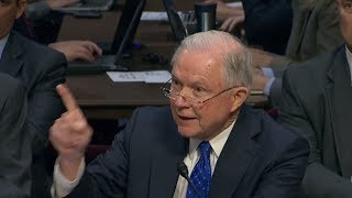 HEATED!: JEFF SESSIONS ANGRY WITH GOOD REASON!