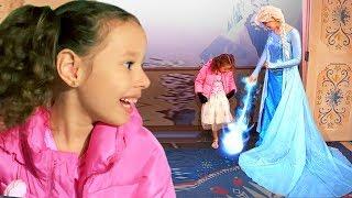 Fui no Castelo da Frozen Elsa e tive uma Grande surpresa