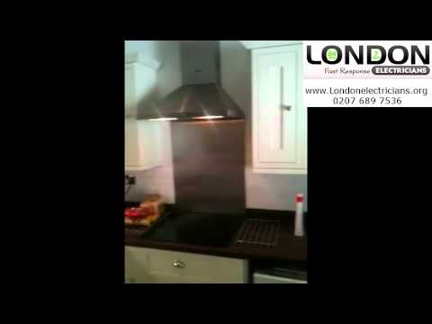 Electricians in London | London Electrican | Kitchen Project