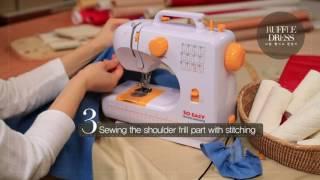 FHSM 506 Multifunctional domestic Sewing Machine  芳华 操作视频--SO EASY
