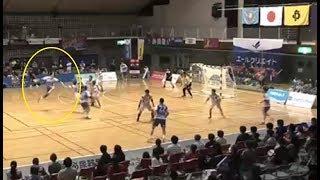 【ハンドボール】日本ハンドボールリーグ 琉球コラソンVSトヨタ車体シュートシーン【ハンドボールリーグ】handball
