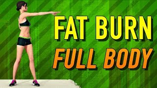 Full Body Workout Routine [Fat Burning Workout At Home]