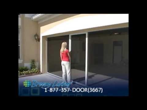 Breezy Living Garage Door Screen Youtube