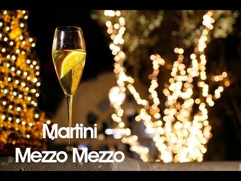 Aprende a preparar un Martini Mezzo Mezzo