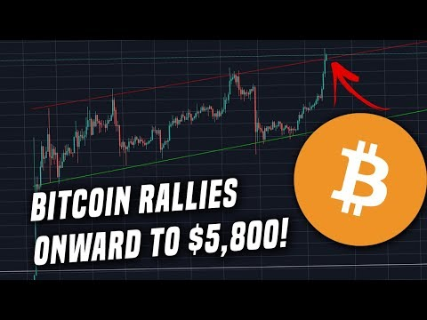 Bitcoin Leaps +7% to $5,800 and Sets New Highs for 2019 | Is $6,000 Up Next?