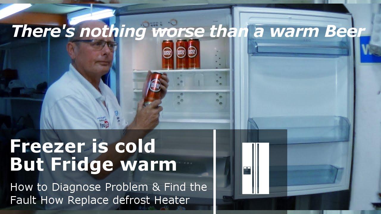 Aeg Electrolux Zanussi Fridge Freezer Fridge Warm Not